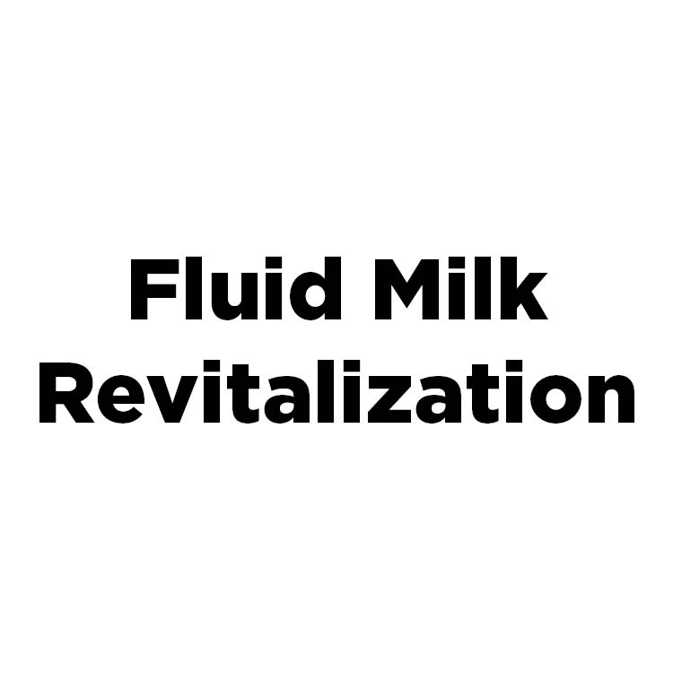 Fluid Milk Revitalization